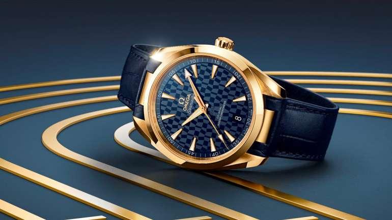OMEGA Tokyo 2020 Seamaster Aqua Terra Gold Edition